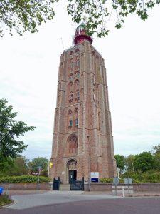 Leuchtturm von Westkapelle in ganzer Größe
