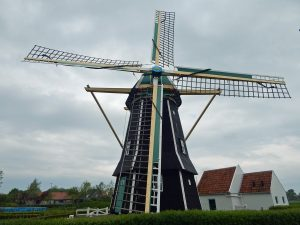 Die Mühle von Aagtekerke hat sechs Ecken