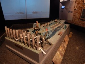 Landungsboot Miniatur Nachbau im Museum Vlissingen